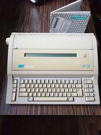 Elektryczna maszyna do pisania Optima