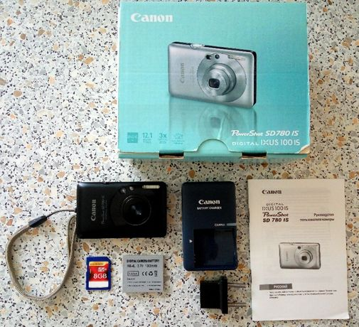 Цифровой фотоаппарат Canon PowerShot SD 780 IS IXUS 100 IS