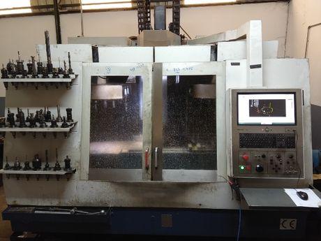 Fresadora/Centro maquinação CNC ZPS 1000x550x600