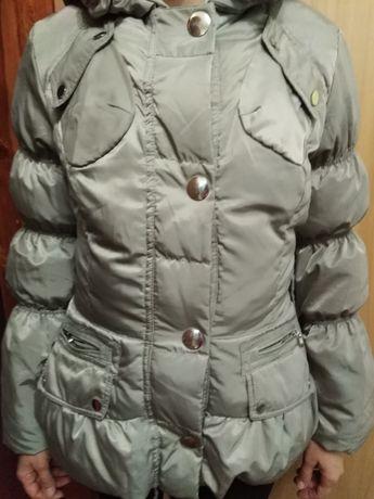 Зимний пуховик, курточка женская