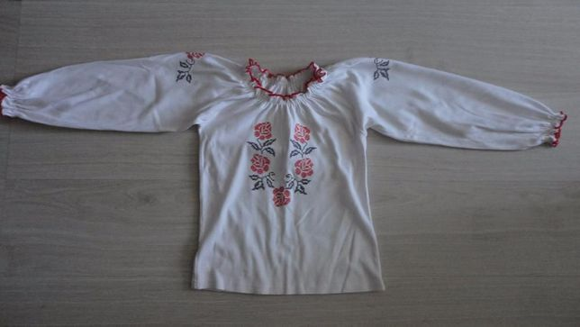 Вышиванка блуза возраст 8 - 10 лет