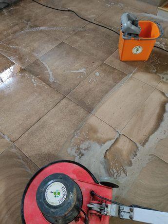 Doczyszczanie powierzchni, usługi sprzątania