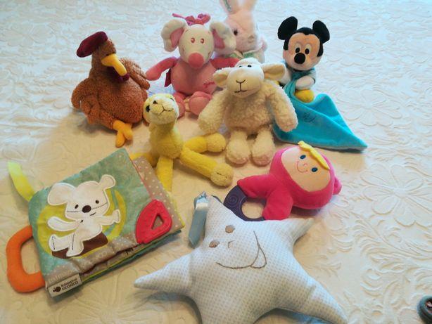 Lote de 9 peluches bebé Mickey Imaginarium