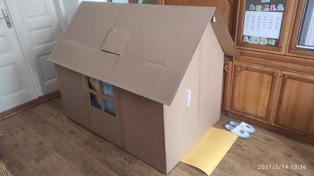 Игрушечный большой домик из картона 1500x1000x1250