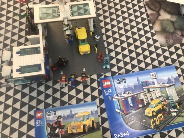 Лего City заправочная станция 7993