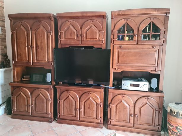 Módulos TV, bar, estante ARC