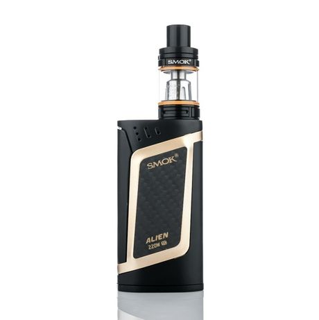 Original, Электронная сигарета SMOK Alien Kit 220W полный комплект