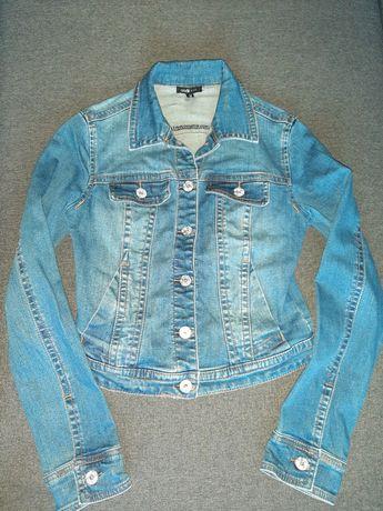 Джинсовая куртка пиджак xs-s Oodji