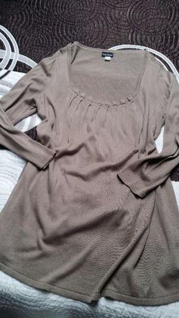 Tunika bluzka sweter beż 48 / 50