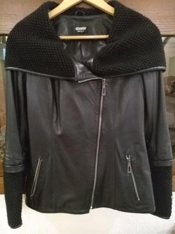 Куртка женская кожаная новая