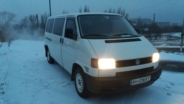 Продам Volkswagen Transporter Т4 8+1 БЕНЗИН/МЕТАН/пропан!!!
