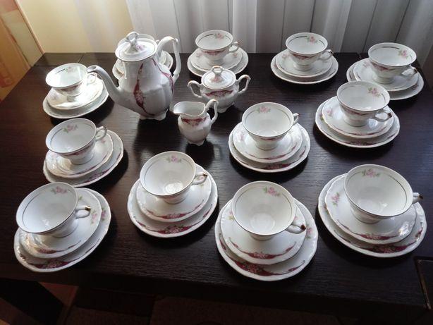 Porcelanowy zestaw do kawy dla 12 osób