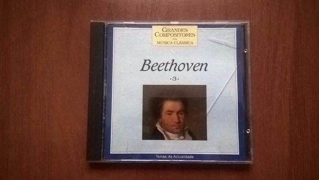"CD ""Beethoven - Grandes Compositores da Musica Clássica 3"""