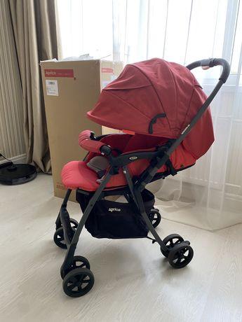 Прогулочная коляска Aprica Luxuna Light CTS Cheerful Red