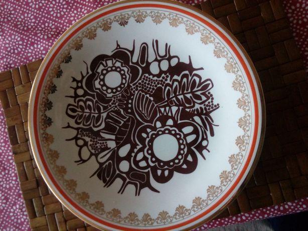 Prl patera talerz ozdobny Wawel porcelana 31,5cm