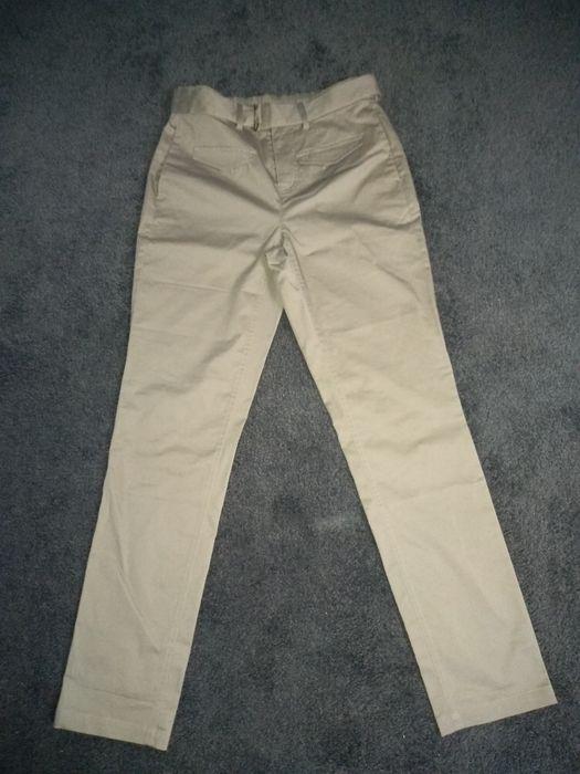 Spodnie casual beż r. 36- 38 M Ogrodzieniec - image 1