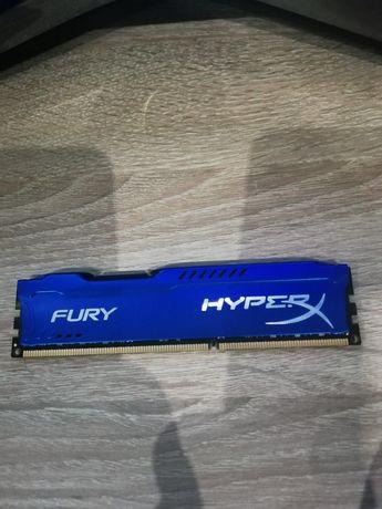 Pamięć Ram 8 GB HYPERX FURY 1600MHZ