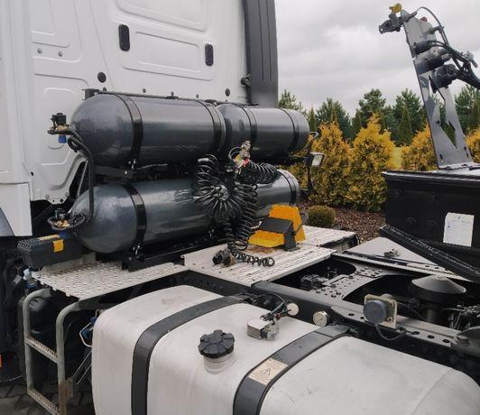 Autogaz CNG Gaz do Tira Diesel Toll Collect domontowanie butli CNG
