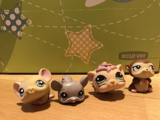 Lps chomiki/myszki littlest pet shop stan jak nowy