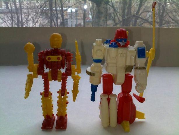 Роботы - трансформеры времён ссср