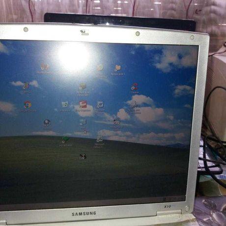 Ноутбук Samsung X10 plus б/у рабочий для маленьких детей как вариант