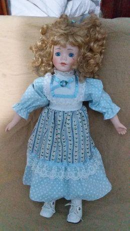 Кукла фарфоровая,коллекционная-CLASSIQUE COLLECTIONRACHEL-40см.