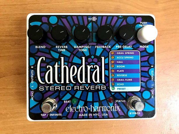 EHX Electro Harmonix Cathedral efekt gitarowy reverb pogłos