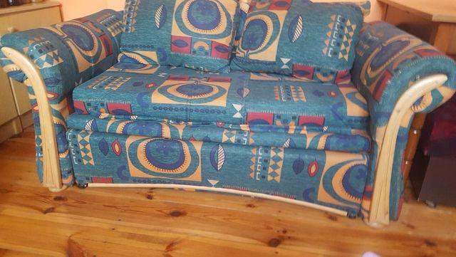 Kanapa sofa rozkładana z pojemnikiem