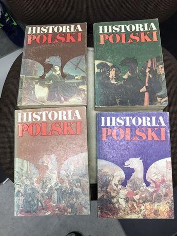 Historia Polski IV tomy