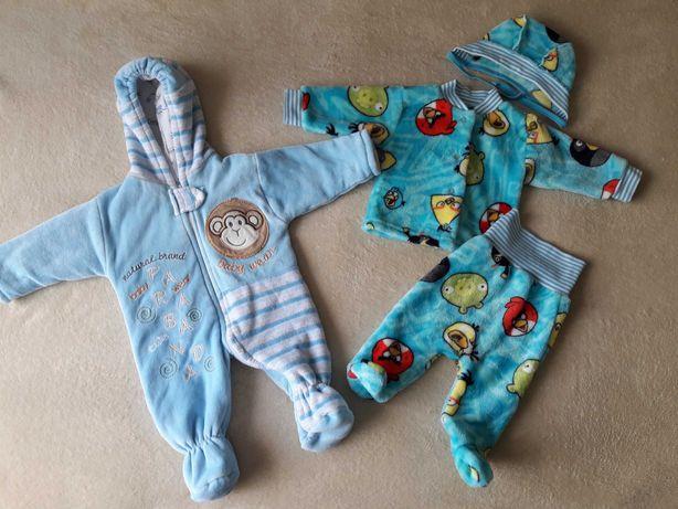 Комбинезон и костюм (0-3 месяца) по 250 рублей