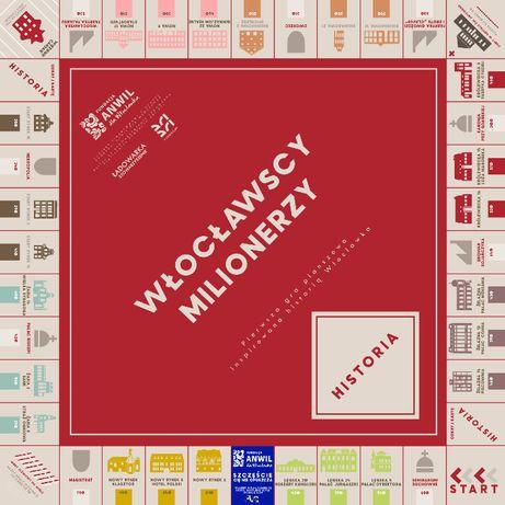 Monopoly Włocławscy Milionerzy gra planszowa