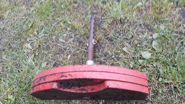 3 obciążniki przód do traktorka kosiarki,dzika jednoosiowego