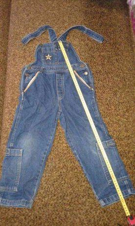 джинсовый комбинезон на ребенка лет 4