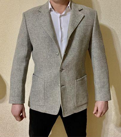 """Стильный пиджак, серый. """"VD One"""""""