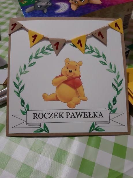 Zaproszenie kartka okolicznościowa urodziny