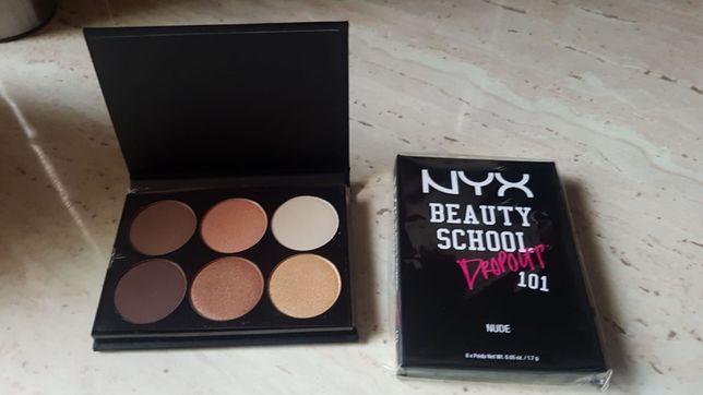 Paletka nyx cienie beauty school paletka cienii