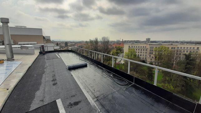 Ремонт даху єврорубероїд плоска криша,рубероїд