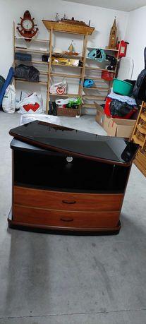 Movel tv em madeira muito resistente