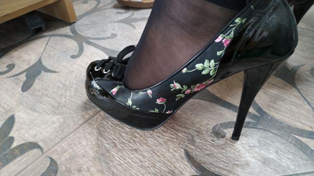 Цветные 12 см каблук