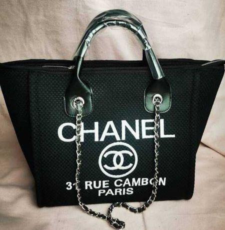 Chanel rue cambon czarna