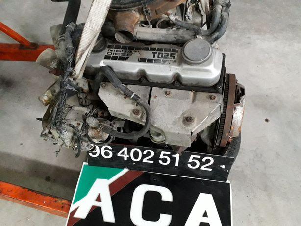 Nissan d21 Motores e caixas