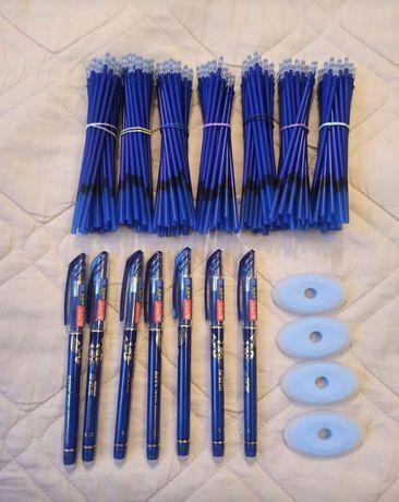 Długopisy ścieralne 1 długopis 25 wkładów