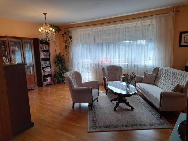 Dom 150m2, 3 sypialnie, 3 tarasy, garaż, zadbany ogród.