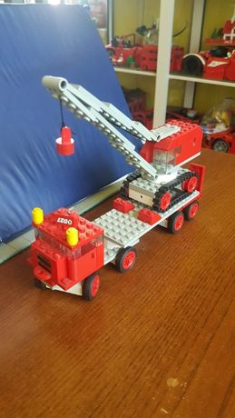 LEGO 337 Classic Vehicle Truck with Crane and Caterpillar Track 1969r