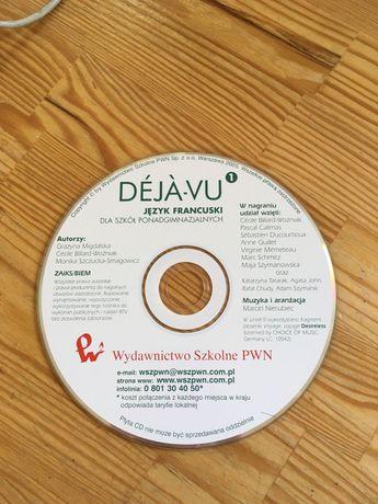"""""""Déjà-vu"""" 1 CD do podręcznika do języka francuskiego"""
