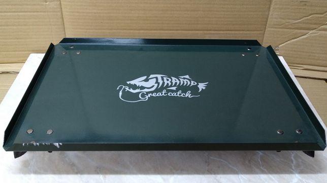 РАСПРОДАЖА! Столик Tramp TRF-057/TRF-056 для рыбалки сталь/алюминий