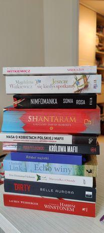 Komplet książek, Witkiewicz, Nimfomanka, Link, Diety, Masa