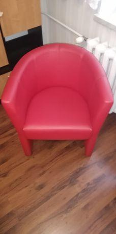 Fotel ekoskóra 2 szt