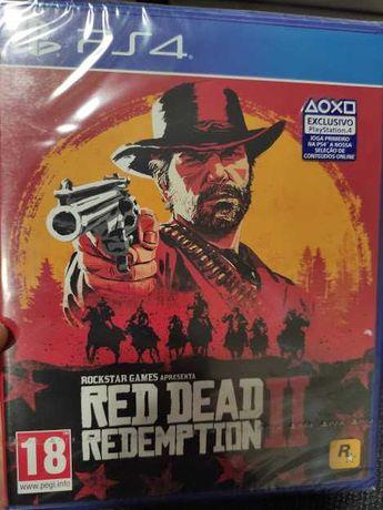Red Dead Redemption 2 II ps4 NOVO SELADO troca retoma