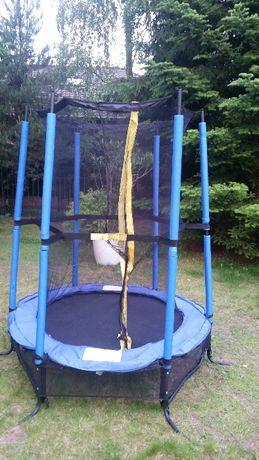 Trampolina 140cm z siatką - na taras lub na ogród - dla małych dzieci